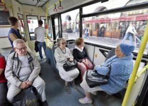 Проезд пенсионеров в маршрутках спб