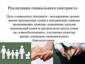Социальный Контракт На Бирже Труда