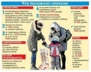 Что Платят За Опекунство Над Ребенком В Московской Области