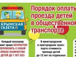 До Скольких Лет Бесплатный Проезд Для Детей