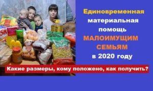 Малообеспеченная Или Малоимущая Семья Разница 2020