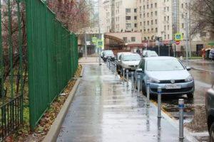 Парковка на желтой линии штраф