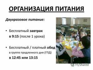 Оплата за группу продленного дня в школе