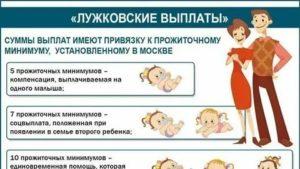 Мжно Ли В Подмосковье Расчитывать На Лужковскую Выплату При Рождении Ребенка