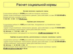 Соцнорма По Электроэнергии Нижний Новгород