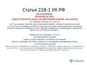 Поправки в ук рф 2020 228
