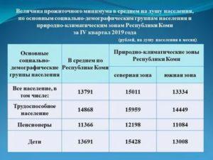 Прожиточный Минимум В Москве На Ребенка В 2020