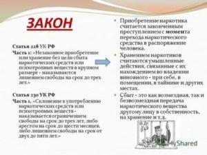 Ст 228 4 часть наказание 2020 год