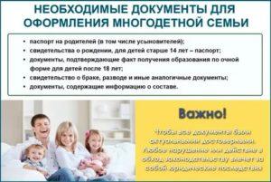Условия для получения статуса многодетной мамы в вологде