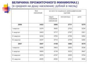 Минимальный Прожиточный Минимум На Ребенка В Ульяновске 2020
