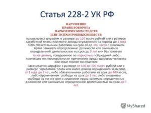 Статья 228 2020