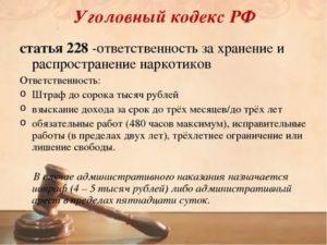 Статья 228все части все пункты