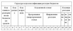 Структура Кбк Расходов Бюджетного Учреждения