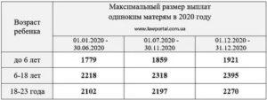 Матьодиночка Льготы И Пособия В 2020 Московская Область