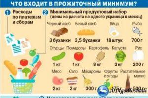 Что Включает Прожиточный Минимум В Москве
