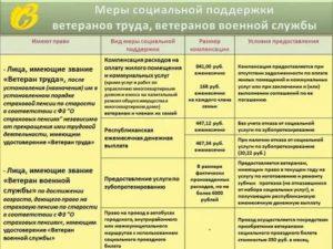 Меры социальной поддержки ветеранов военной службы в московской области в 2020 году